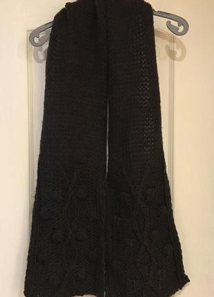 1*1=3 шарфик шерстяной promod