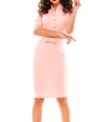Соблазнительное платье нежно-розового цвета