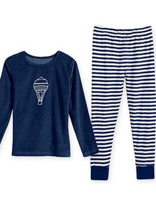Пижама махровая, комплект для сна, домашний костюм, 128, alive, германия