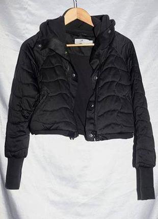 Укороченная куртка бомбер adidas by stella mccartney