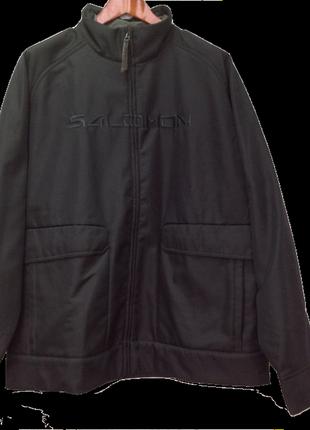Демисезонная мужская термокуртка salomon