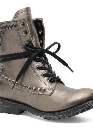 Дизайнерские гранжевые ботинки от итальянского ash, 40