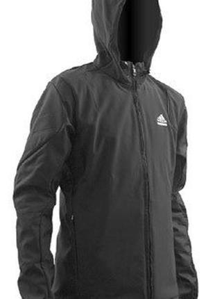 Демисезонная куртка adidas techfit th hood (s,m, l)