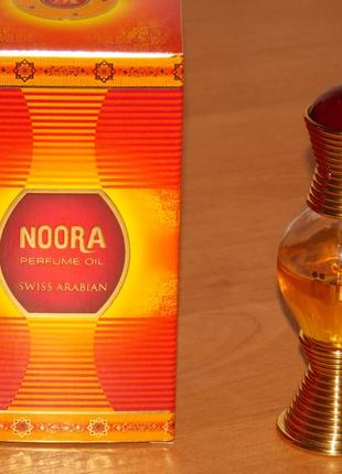 Арабские масляные духи без спирта noora swiss arabian ( нура)