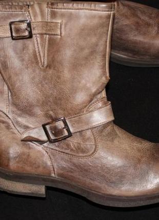 45 разм. эксклюзив сапоги бренда bata, стелька 30,5 см. кожа