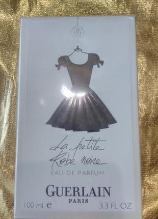 Духи, guerlain черное платье, парфюмированая вода 100мл