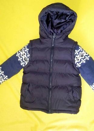 Детская куртка. зимняя (rebel)1