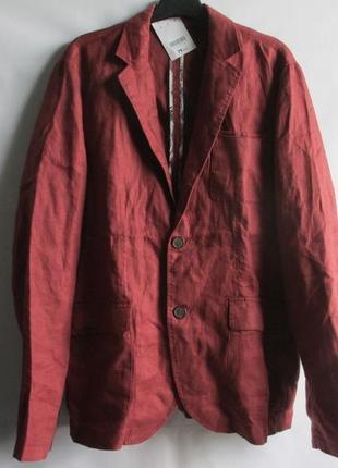 Блейзер пиджак стильный яркий  лен  m, l, xxl  promod оригинал франция европа