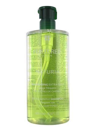 Люкс уход, нежный регулирующий шампунь rene furterer naturia gentle balancing shampoo