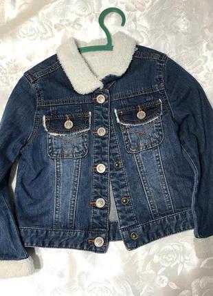 Джынсовый пиджак
