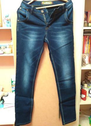 Мужские джинсы утепленные