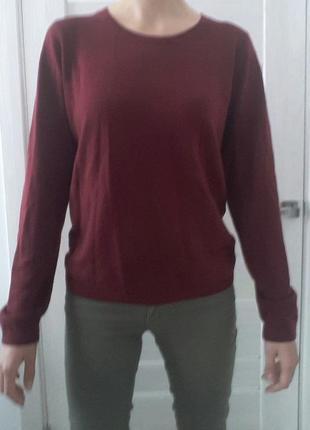 Свекловый свитер marks&spencer
