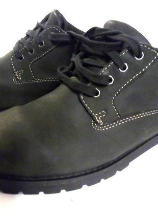 Шикарные мужские осенние туфли blue harbour
