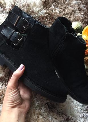 Ботинки натуральный замш полуботинки туфли натуральная кожа