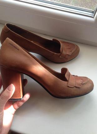 Кожаные туфли vagabond