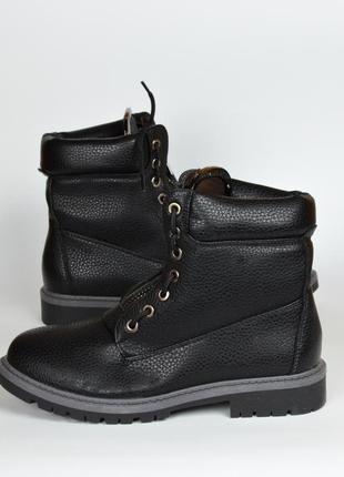 Черные ботинки демисезон ( без меха) 37\38\39\40\41