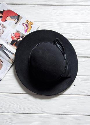 Модная шляпа, 100% шерсть