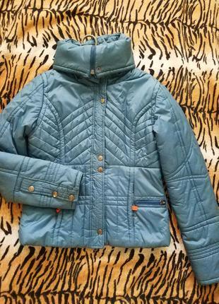 Очень тёплая фирменная куртка