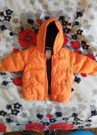 Крутая теплая курточка