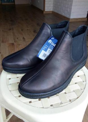Ботинки inblu. кожа. осень - зима. р. 36-41