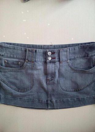 Джинсовая юбка от бренда new look. вторая вещь в профиле скидка 50%