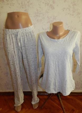 Love to lounge пижама трикотажная кофта со штанишками рм 10-12