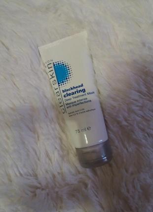 -40% маска для глубокого очищения кожи лица черных точек с экстрактом ромашки clearskin