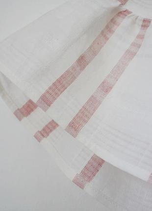 Нежная летняя летящая хлопковая блуза2 фото