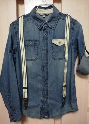Стильная джинсовая рубашка ovs