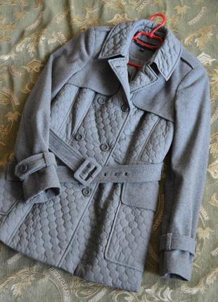 Стильное демисезонное пальто warehouse
