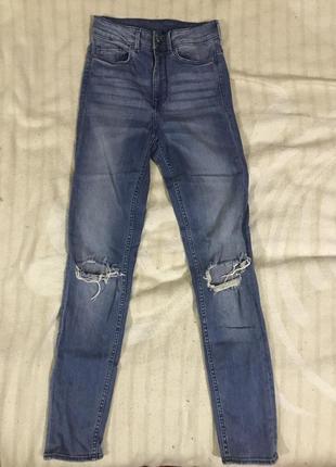 Очень крутые джинсы h&m