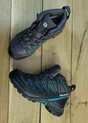 Женские зимние ботинки salomon