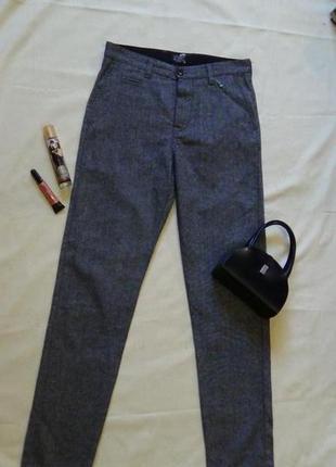 Брюки шерстяные, брюки серые, брюки классические,