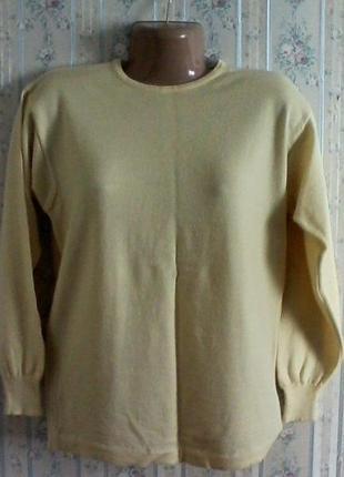 Шерстяной свитер джемпер, разм. 46