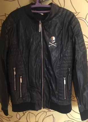 Мужская, осення куртка (одета раз)