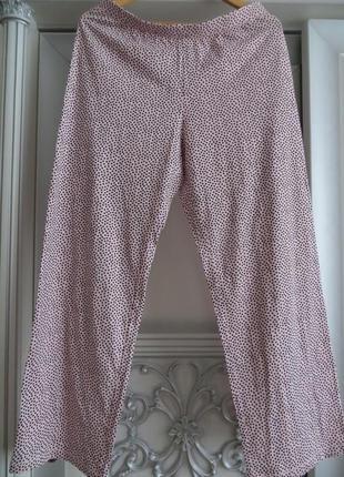 Пижамные штаны в горох