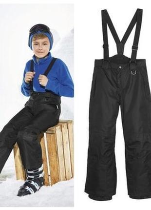 Термоштаны штаны лыжные рост 122-128, 134-140, 146-152 crivit