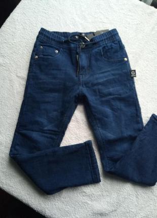 Распродажа джинсы на флисе grace 116 122 140