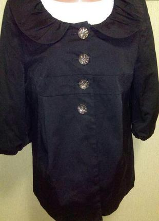 Изумительный жакет с красивыми пуговицами кардиган пиджак  накидка