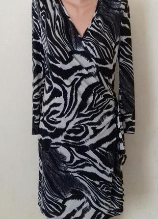 Осеннее новое платье с принтом femme