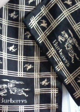 Шелковый  шарф от burberrys