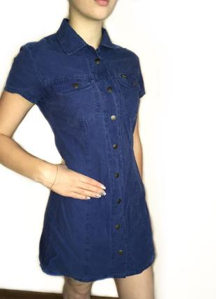 Джинсовое платье /джинсовый сарафан