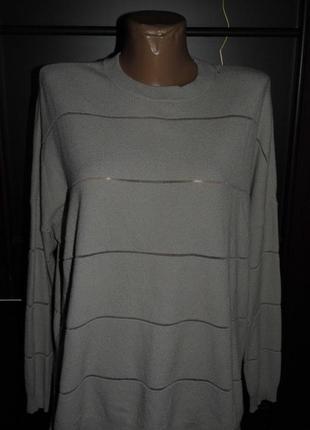 Джемпер с сетчатыми вставками - karen millen - xl -наш 54 размер -  оригинал!