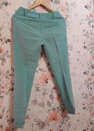 Летние брюки цвета тиффани