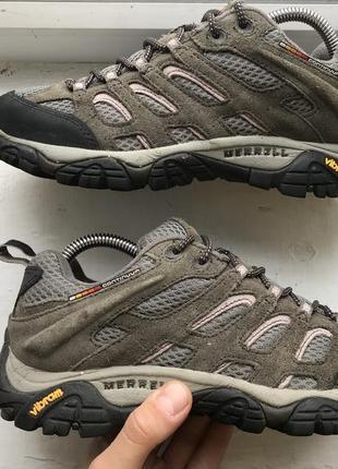 Продам трекинговые кроссовки merrell continuum vibram
