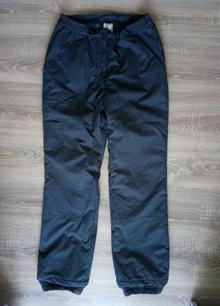 Женские теплые зимние лыжные или городские штаны