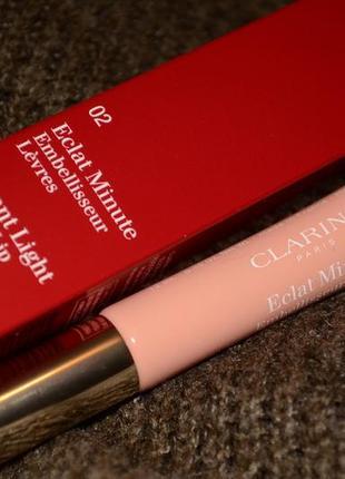 Блеск для губ clarins eclat 02 apricot shimmer