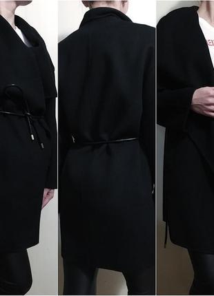 Шерстяное пальто / кардиган zara