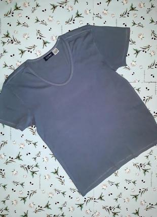 Базовая серая футболка activewear, размер 46-48