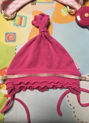 Шапочка демисезонная, шапка для девочки
